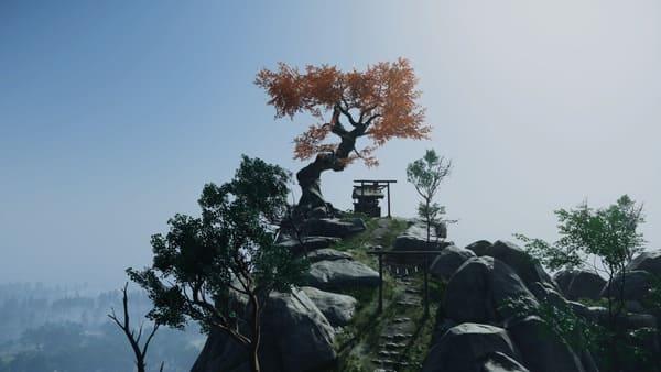 ゴーストオブツシマの綺麗な景色の画像