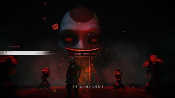 奇譚プレイ中の画面画像