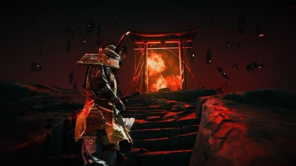 奇譚プレイ中の画面画像2